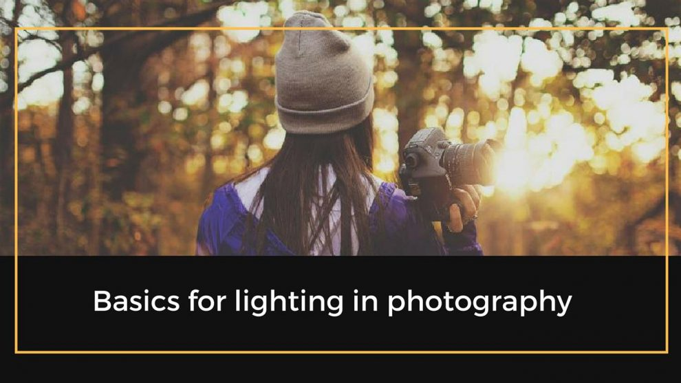 lighting in photography