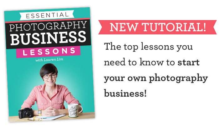 6 Tips for Starting a Photography Business the Right Way