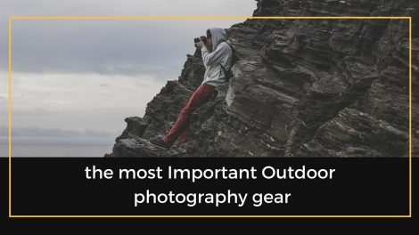 Outdoor photography gear