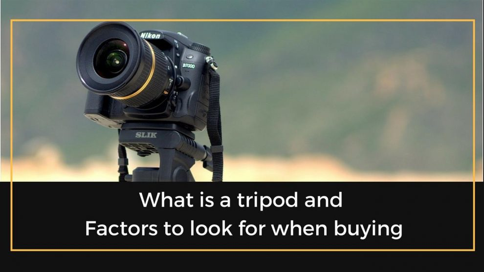 What is a tripod