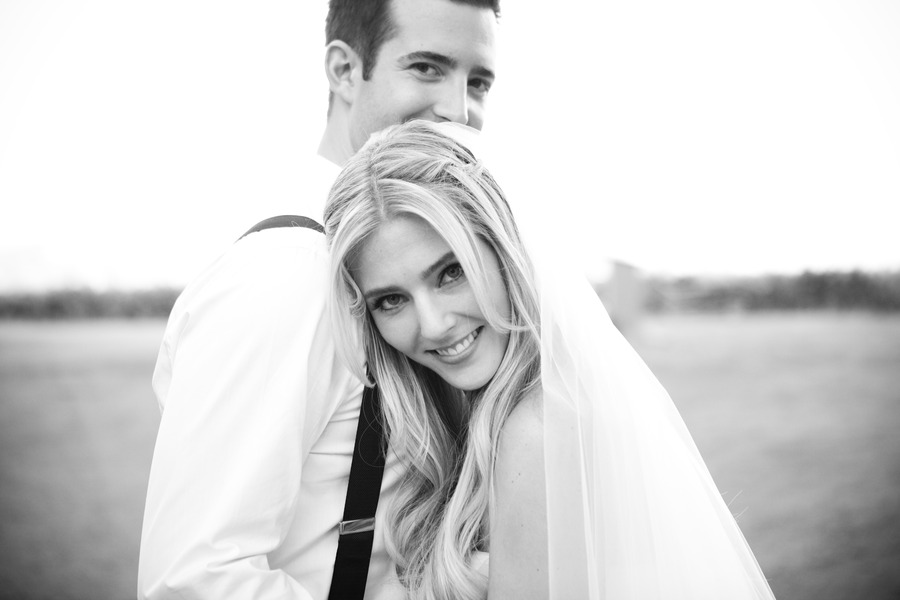 Stunning Black And White Wedding Photos